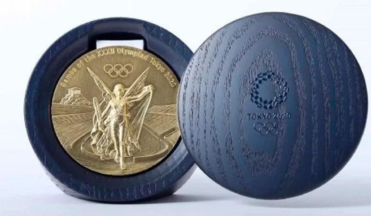 Las medallas de los Juegos de Tokio están hechas con material reciclado