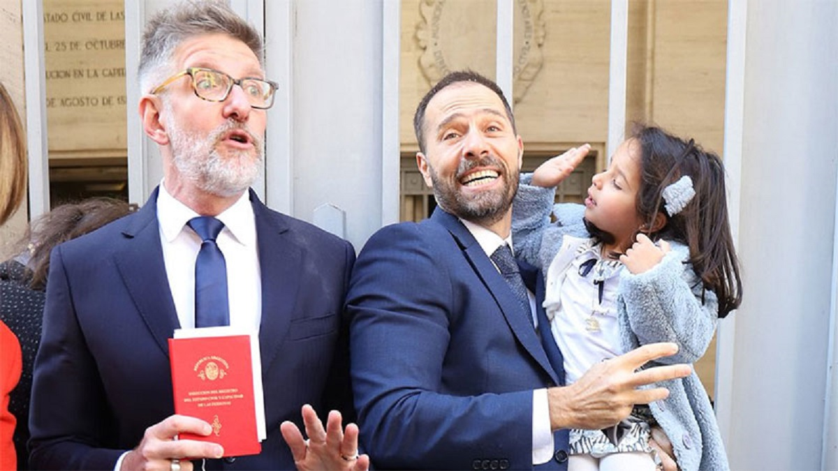 Luis Novaresio se casó con Braulio Bauab, pero no tienen planes de luna de miel