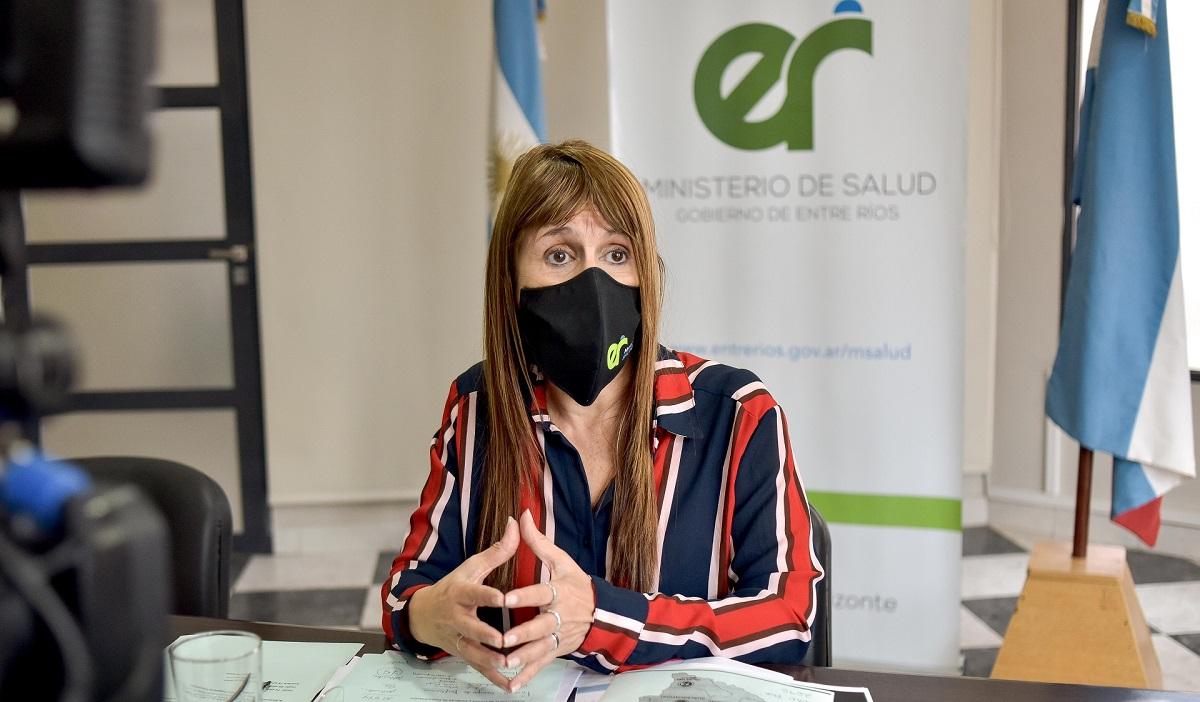 En Entre Ríos la tasa de letalidad de pacientes con COVID es menor a la media nacional