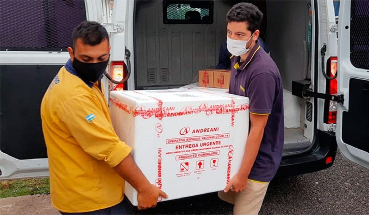 Entre Ríos recibió 46.400 nuevas dosis de vacunas contra el Coronavirus